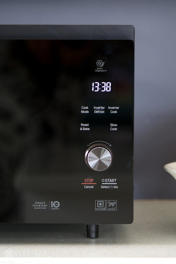 getting creative with the new lg neochef microwave inspired living sa