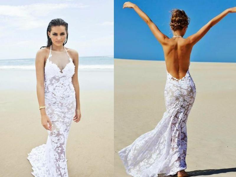 30 Awesome Beach Wedding Dresses