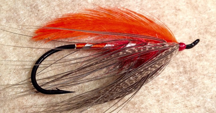 Orange Heron Spey by Ryan White :: Inspired Spaces