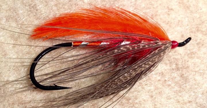 Orange Heron Spey by Ryan White :: Inspired Spaces
