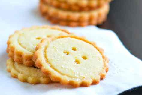 Easy Butter Cookies Recipe