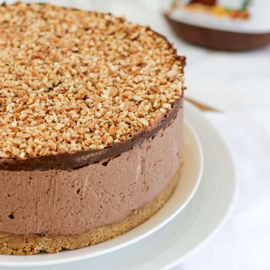nutella cheescake