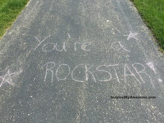 You're a rockstar!
