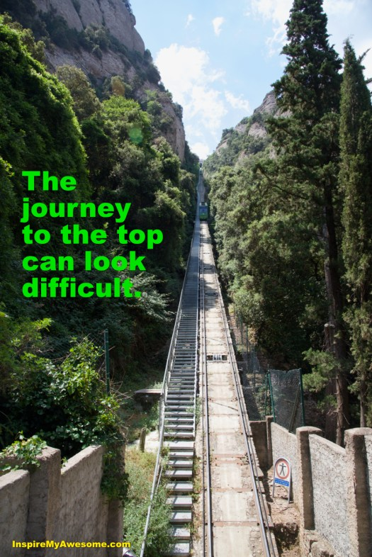 The Journey to the Top Can Look Difficult