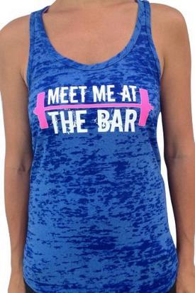 Meet Me At The Bar Crossfit Tank