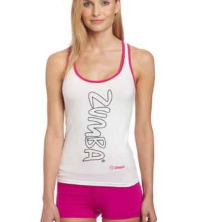 zumba fitness tank top for women