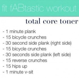 Fit fABtastic Workout