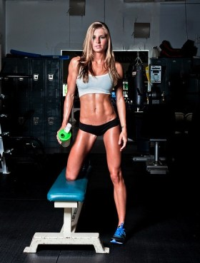 Amazing toned body