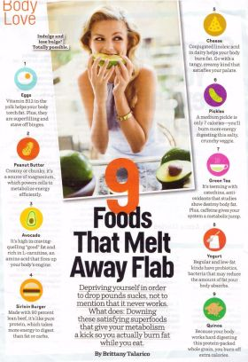 Nine Foods that Melt Away Flab