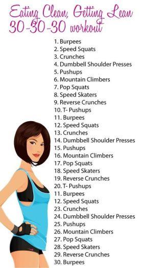 30-30-30 workout