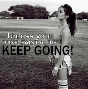 Unless you puke