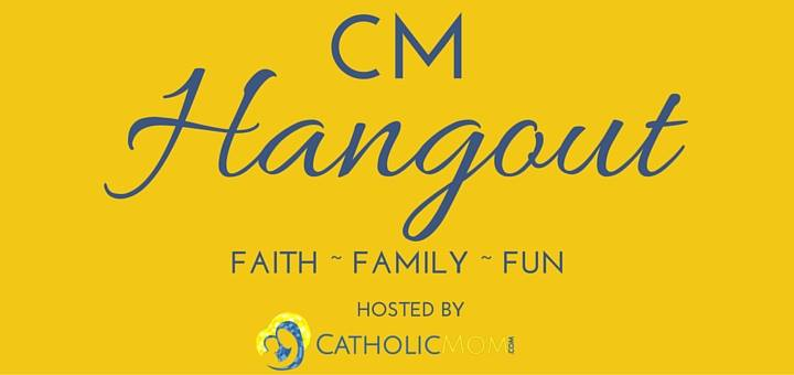 Hanging Out With Catholicmom.com!