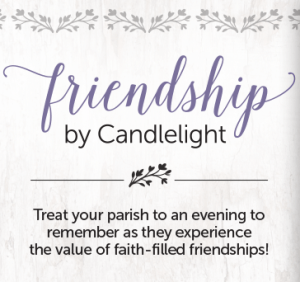 Friendship By Candlelight Graphic