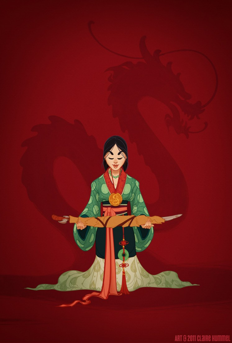 Mulan by Claire Hummel