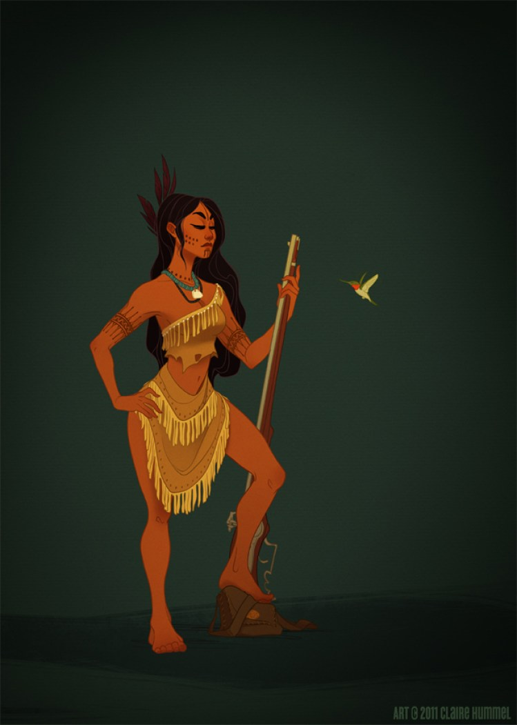 Pocahontas by Claire Hummel