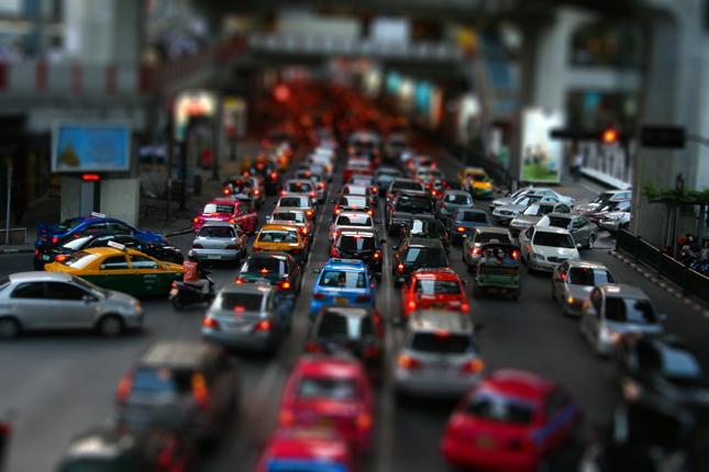 tilt-shift-rush-hour