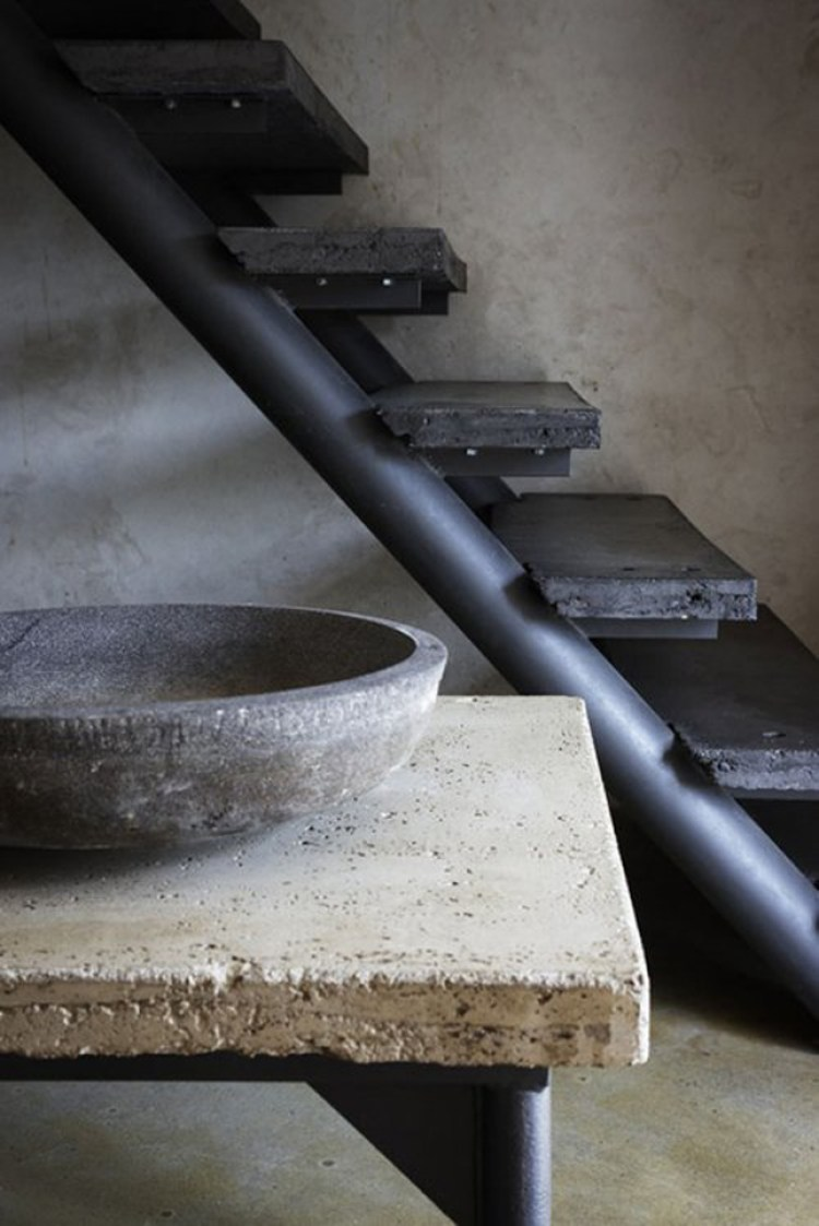 Il cemento come decorazione