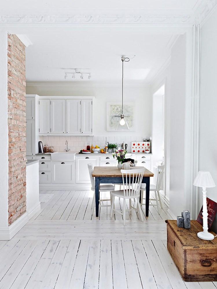 Arredare casa con mattoni a vista