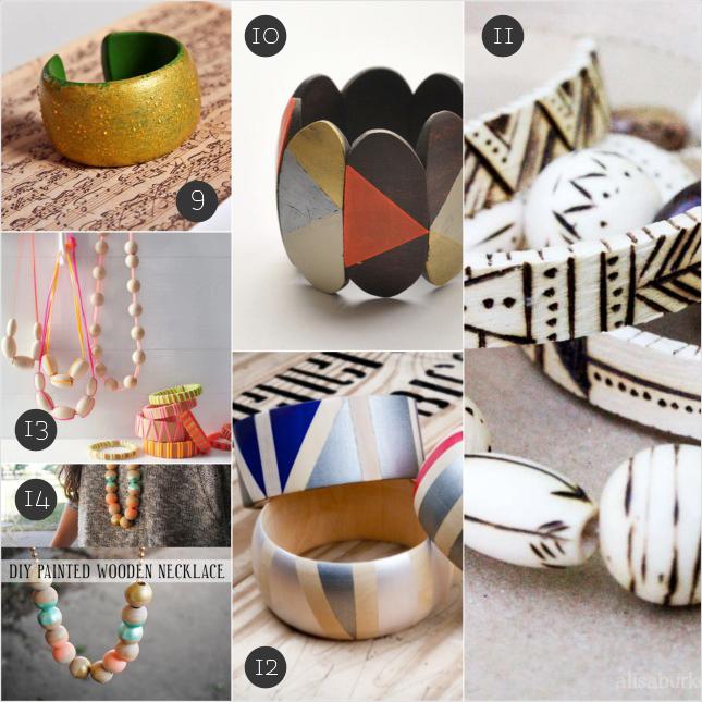 September Craft: creare gioielli di legno | Inspire We Trust