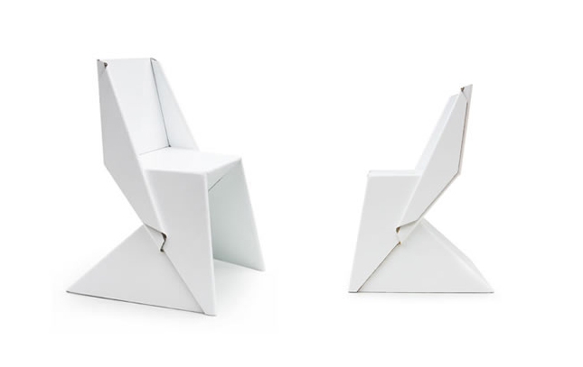 Origami e design - Papton chair