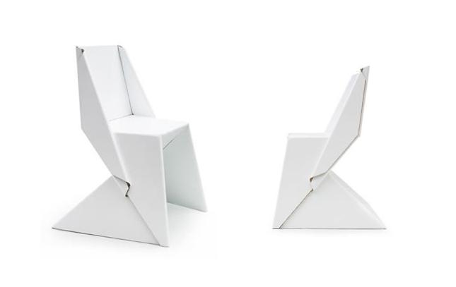 Origami e design - Papton chair