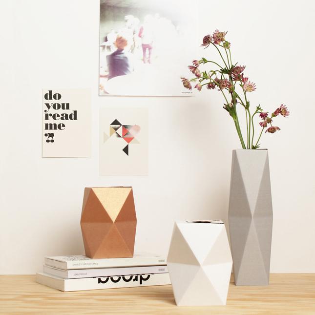 Origami e design - snugvase