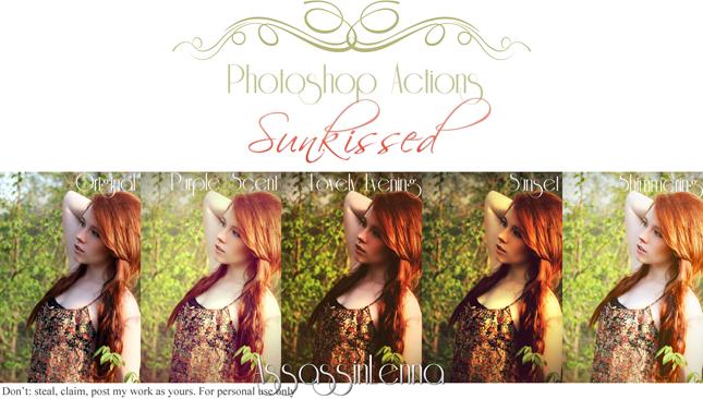 35 Photoshop actions a tema Autunno