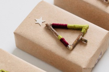 December Craft: Christmas packages DIY