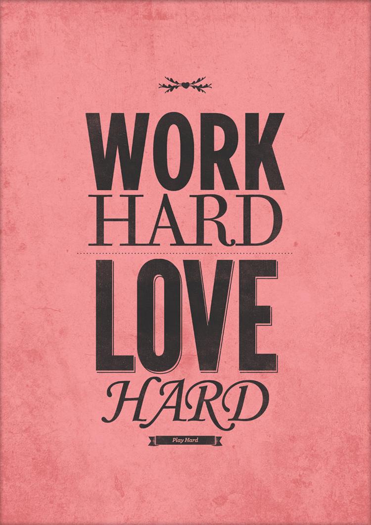 Typographic Quotes: Love Edition | Inspire We Trust