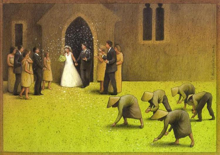 Satira e illustrazione l'arte di Pawel Kuczynski