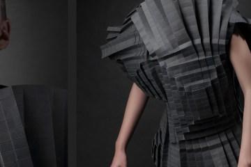Paper dresses by Morana Kranjec