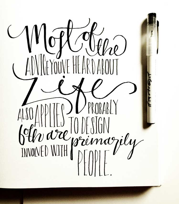 Typographic Quotes #49 | Inspire We Trust