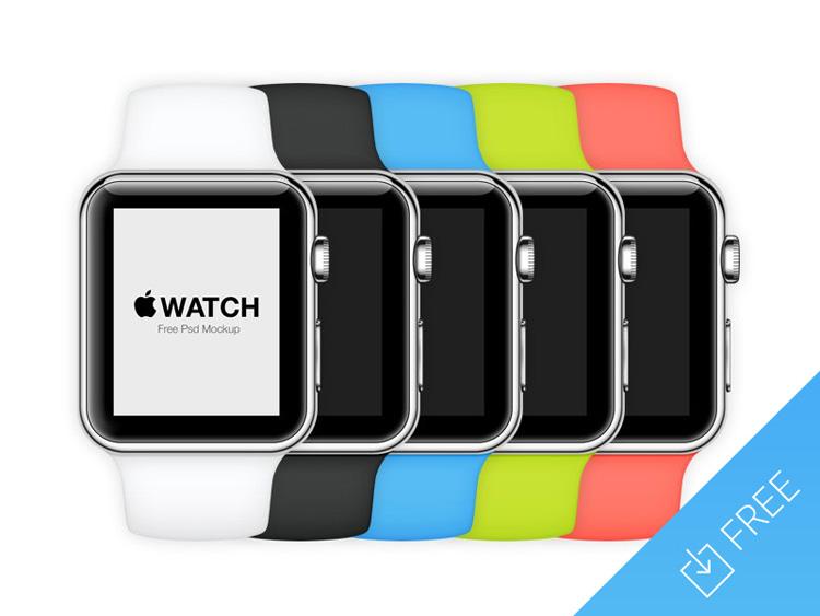 free Apple Watch mockup