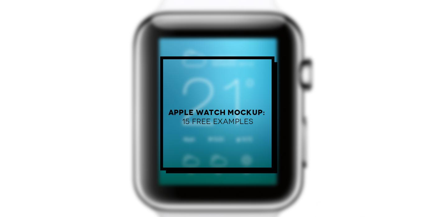 15 Apple Watch mockup | Inspire We Trust