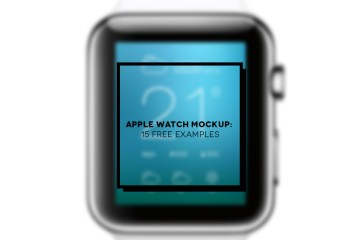 15 Apple Watch mockup | Inspire We Trust