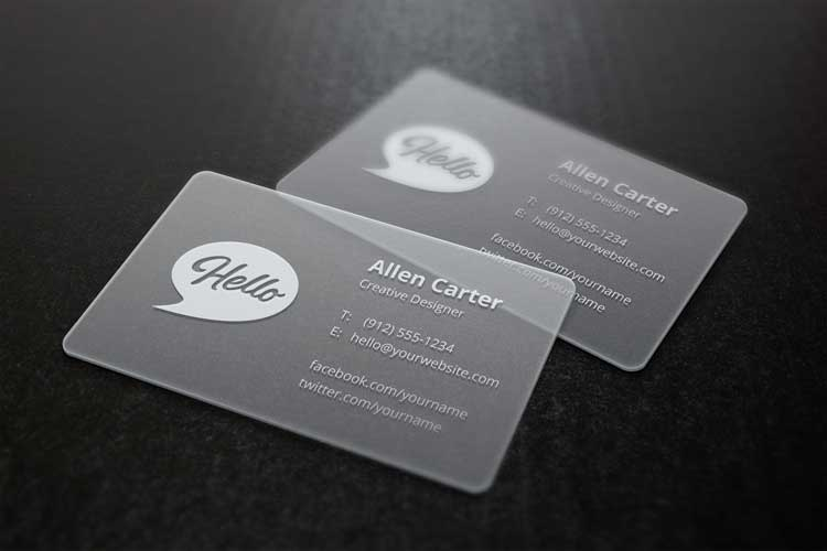 55+ Free business card mockups