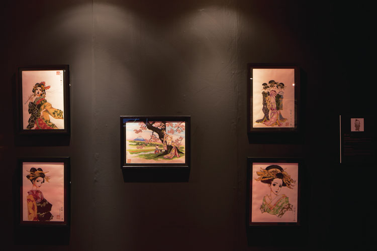 Hokusai Manga Inspired Exhibition / Moyoca-Anno