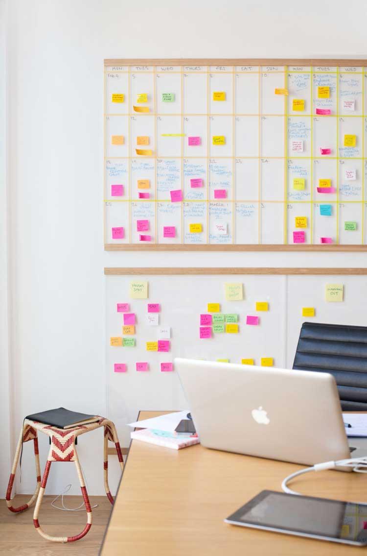 idee per organizzare la scrivania