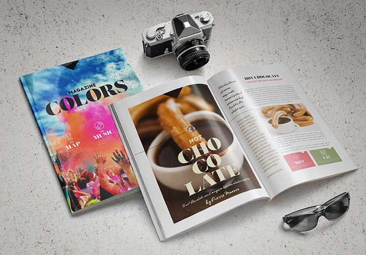 free indesign template magazine