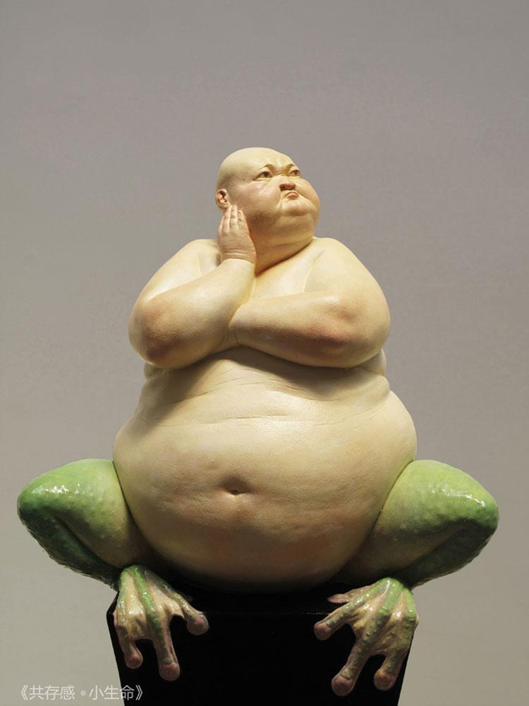 le sculture di Liu Xue