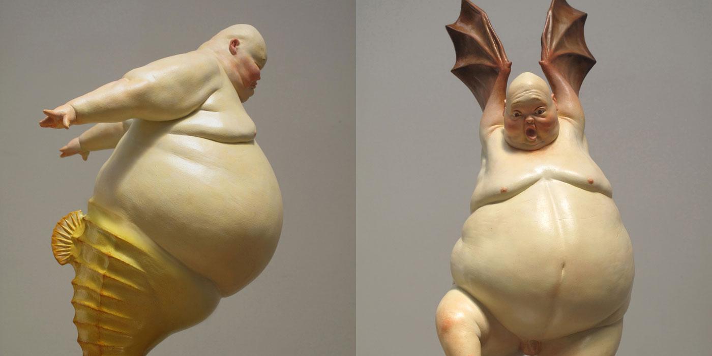 Liu Xue sculture ibride