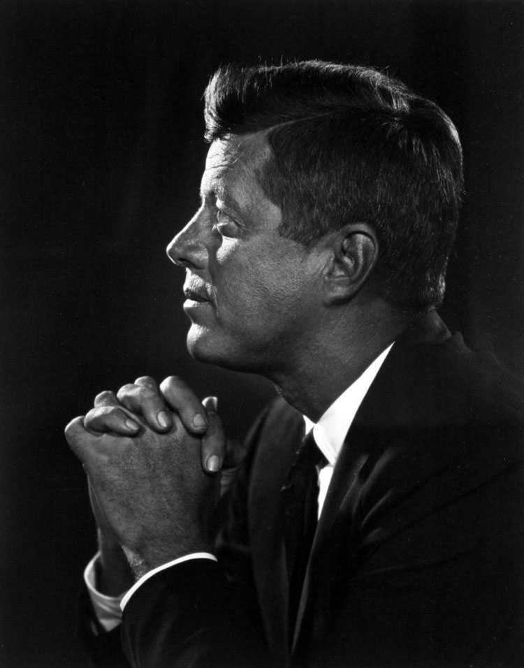 John Fitzgerald Kennedy by Yousuf Karsh