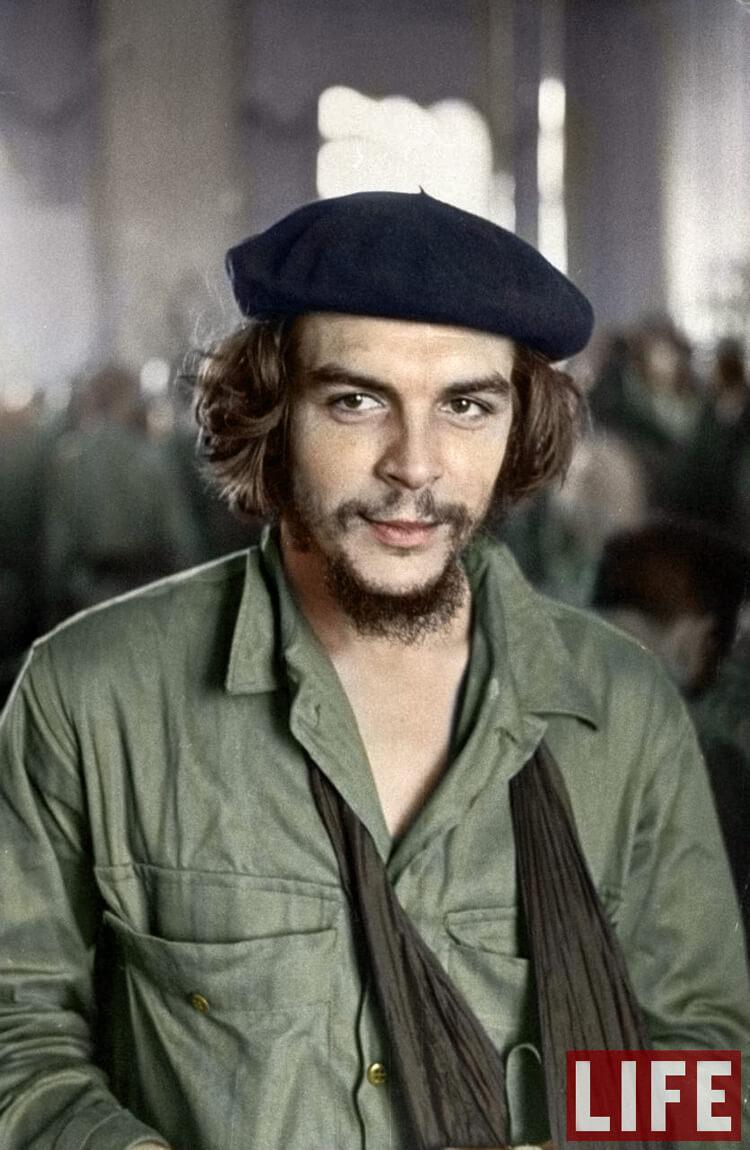 "Colorized History - Ernesto ""Che"" Guevara"