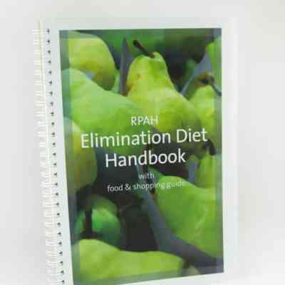 Inspiring Nutrition - Dietician Mandurah - RPAH Elimination Diet Handbook