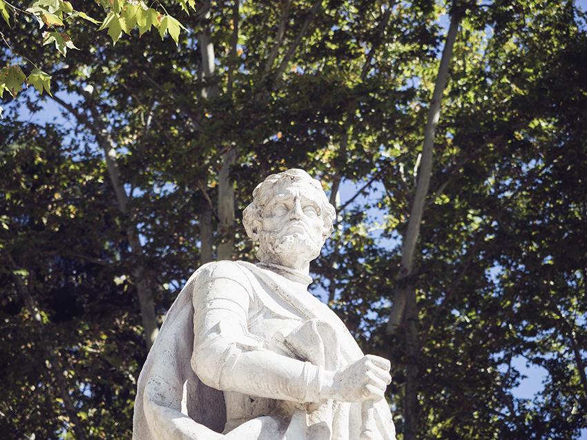 Madrid Statue