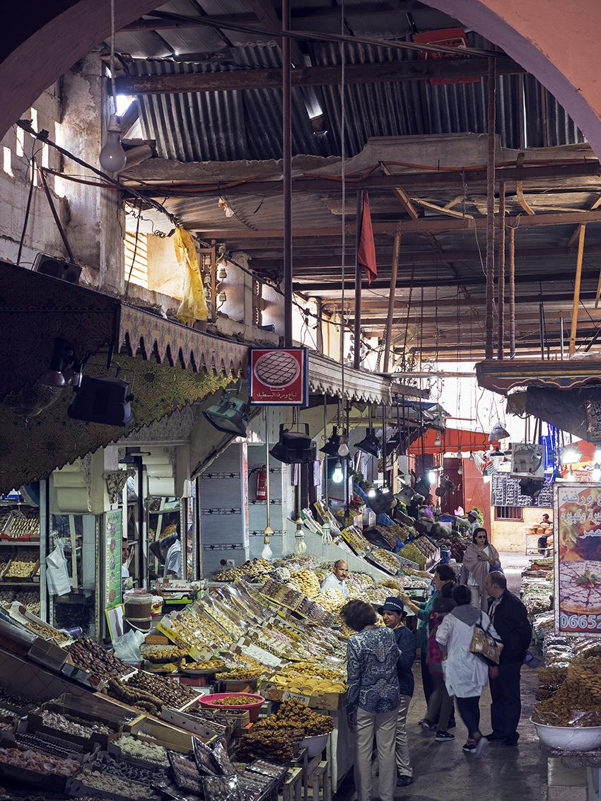 Meknes markets