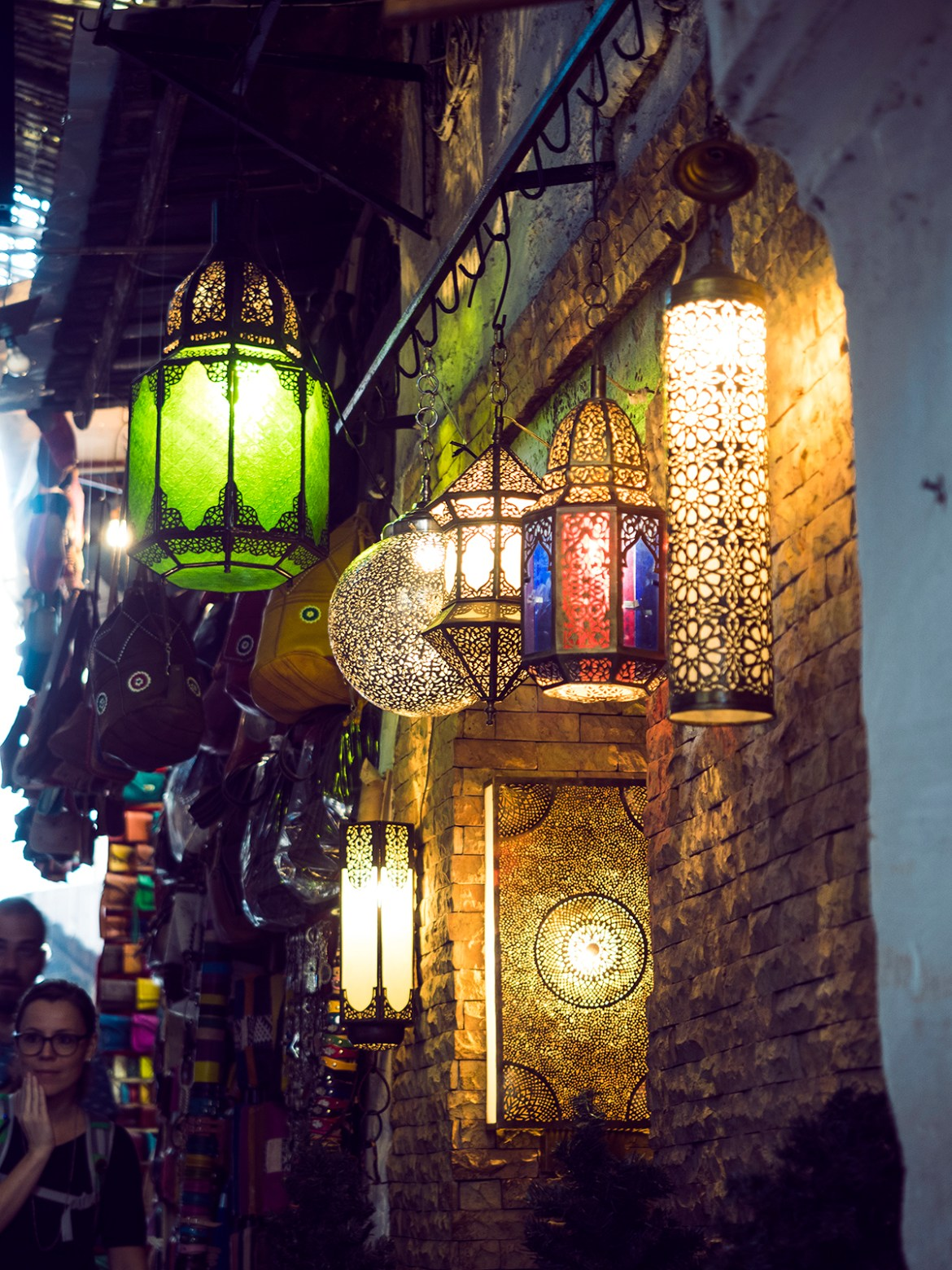 lamps Morocco