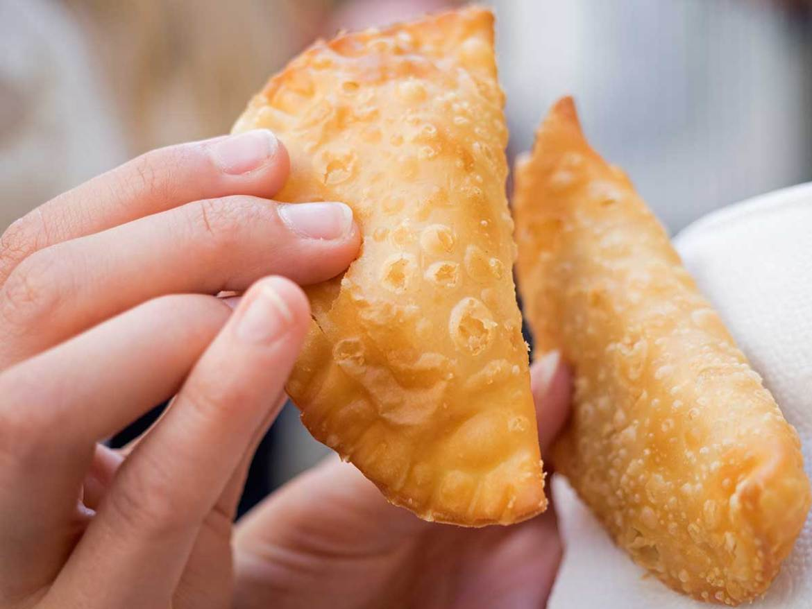 Madrid food tour empanada