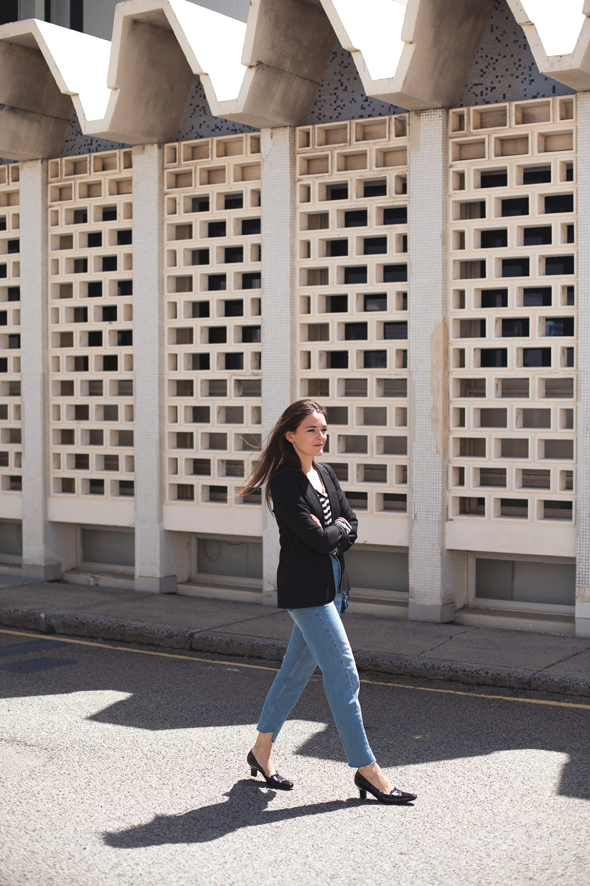 street style mom jeans from Topshop, Inspiring Wit blogger, French style