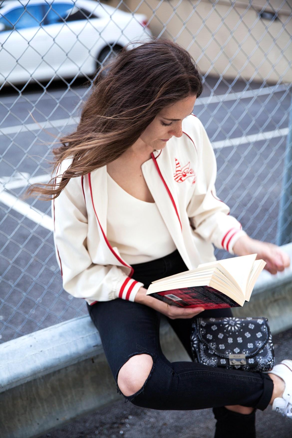bomber jacket Inspiring Wit blog